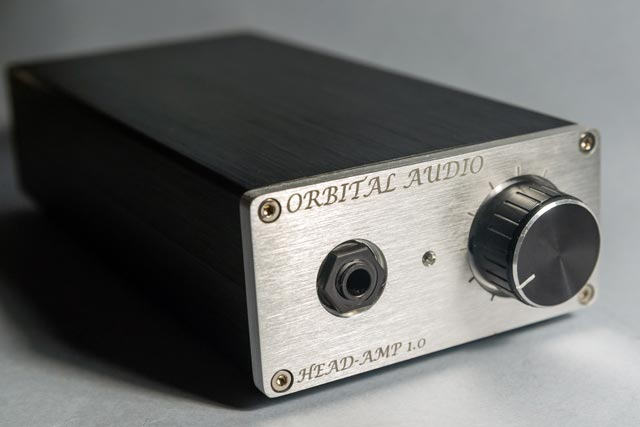 ORBITAL AUDIO Head-Amp 1.0 front view