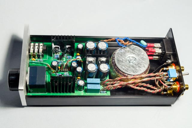 ORBITAL AUDIO Head-Amp 1.0 inside view