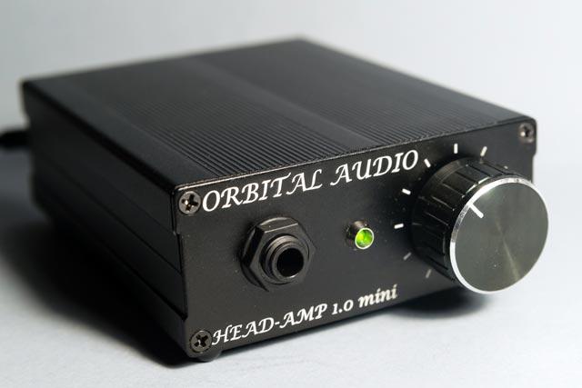 ORBITAL AUDIO HEAD-AMP 1.0 mini front view