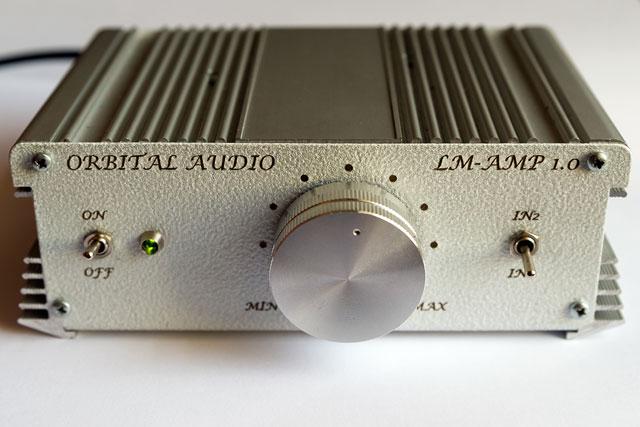ORBITAL AUDIO LM-AMP 1.0 front view